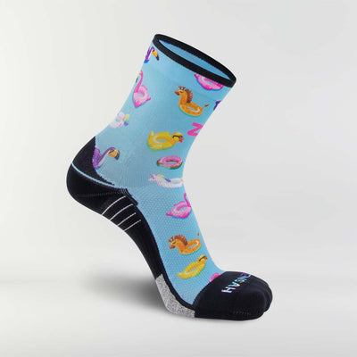 Pool Floats Socks (Mini-Crew)Socks - Zensah
