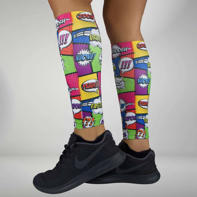 Pop Art Compression Leg SleevesLeg Sleeves - Zensah
