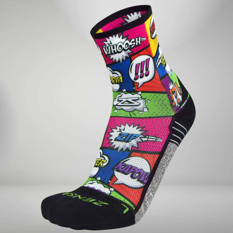 Pop Art Socks (Mini Crew)Socks - Zensah