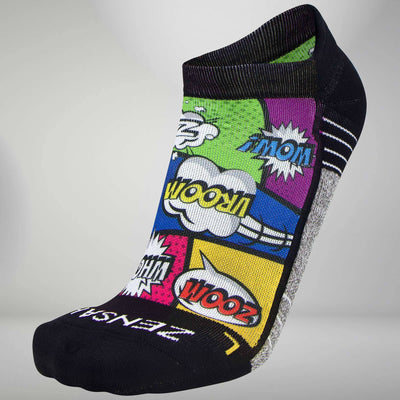 Pop Art Socks (No Show)Socks - Zensah