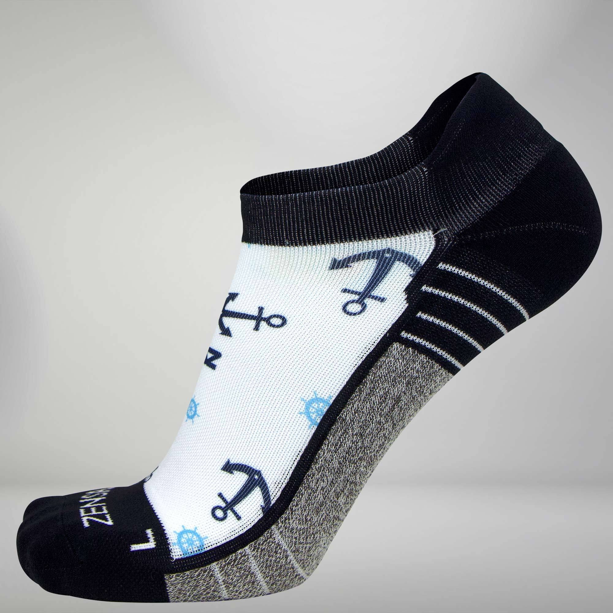 Anchors Socks (No Show)