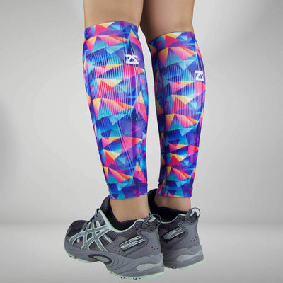 Retro Triangles Compression Leg SleevesLeg Sleeves - Zensah