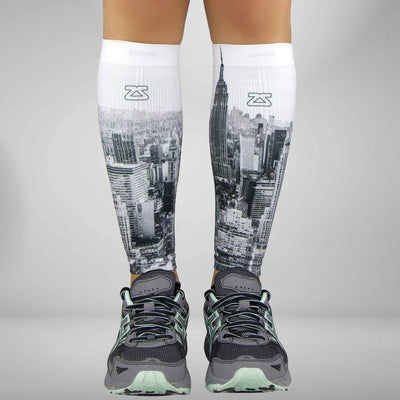 NYC Empire State Compression Leg SleevesLeg Sleeves - Zensah