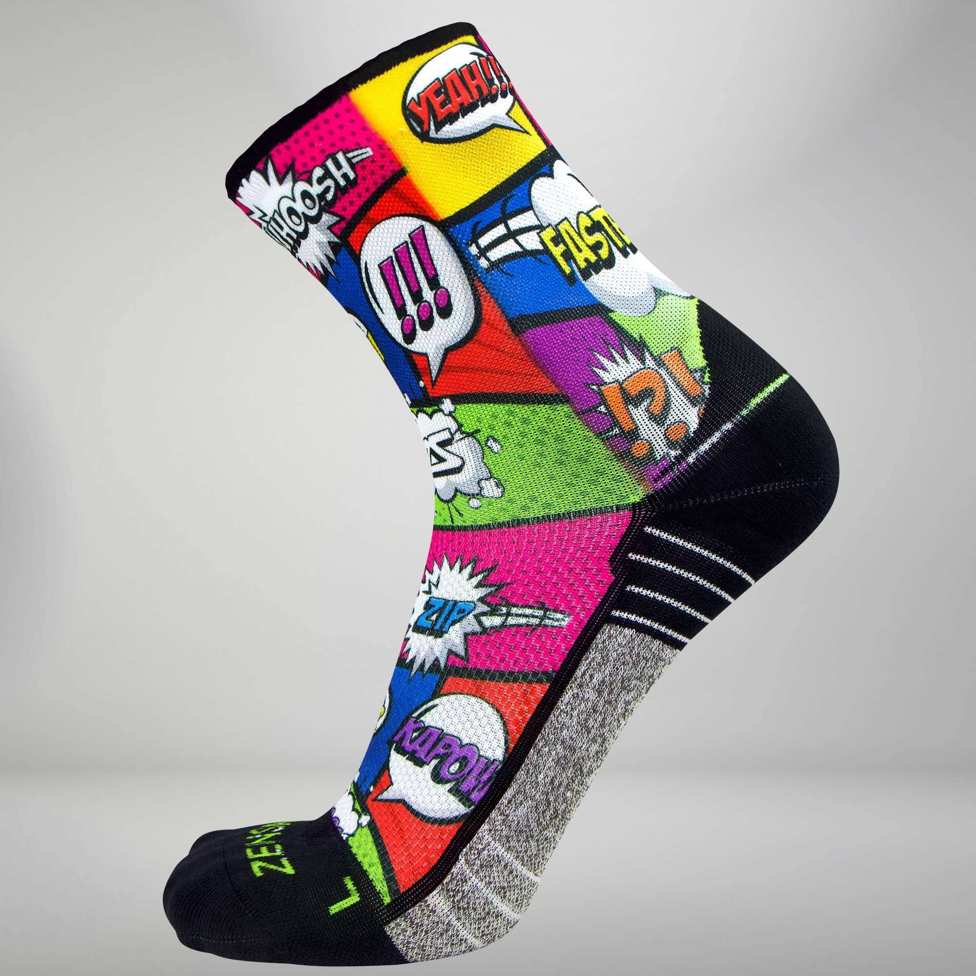 Pop Art Socks (Mini Crew)