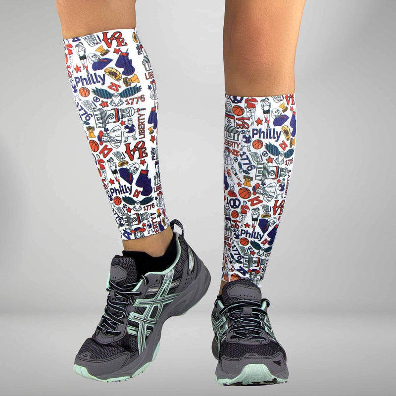 Philadelphia Compression Leg SleevesLeg Sleeves - Zensah