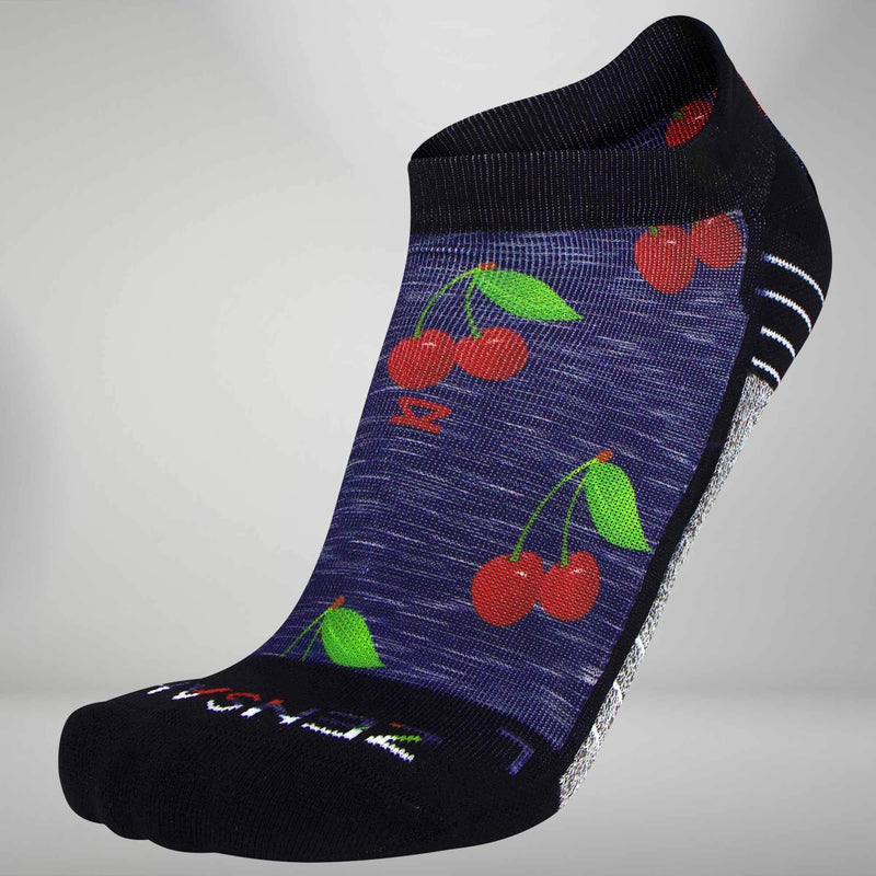 Cherries Socks (No-Show)
