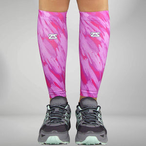 Paint Strokes Compression Leg Sleeves