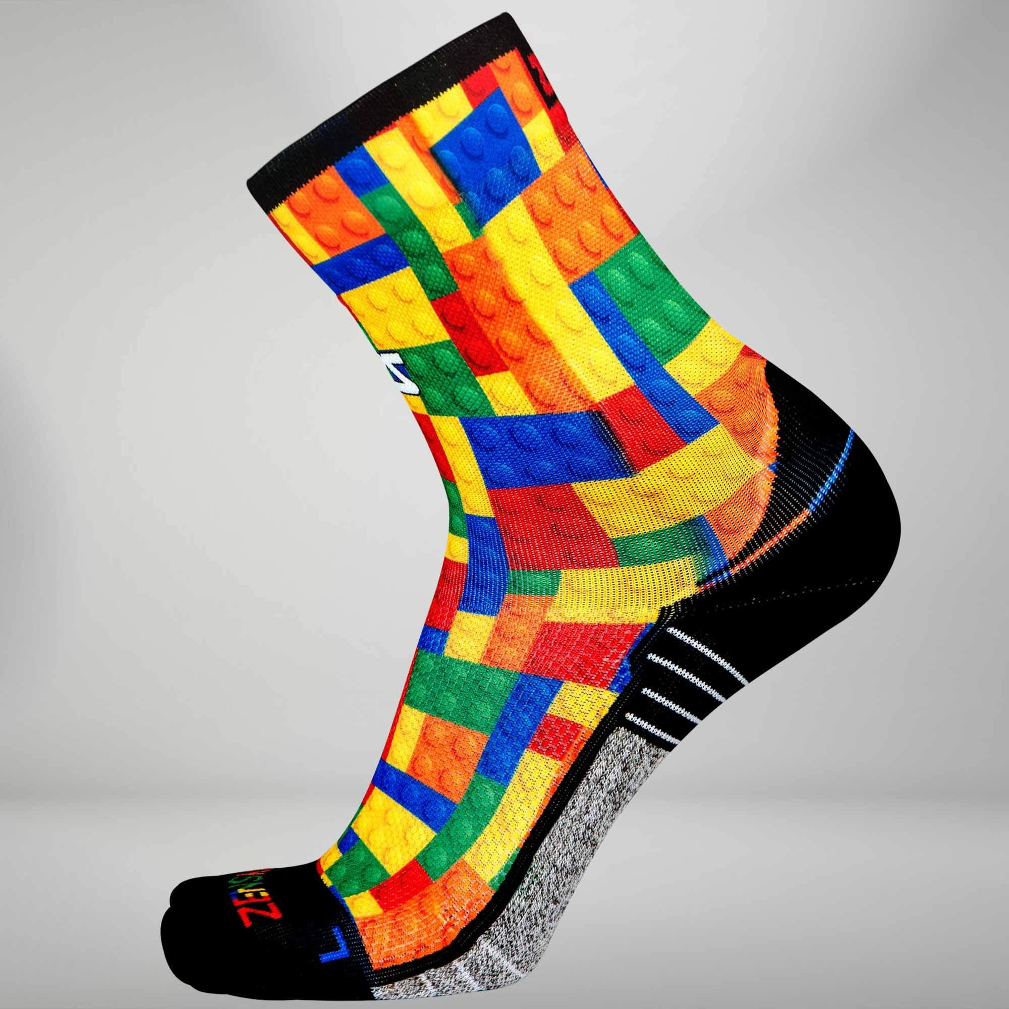 Puzzle Block Socks (Mini Crew)