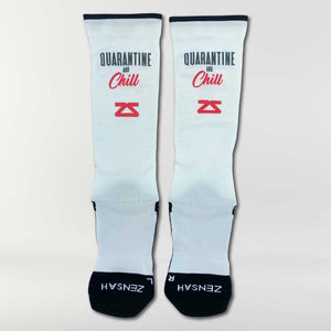 Quarantine and Chill Compression Socks (Knee-High)