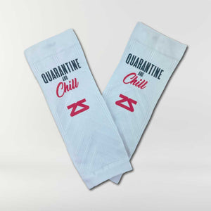 Quarantine and Chill Compression Leg Sleeves