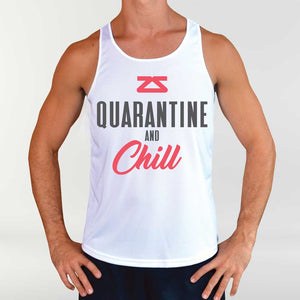 "Men's ""Quarantine & Chill"" Singlet"