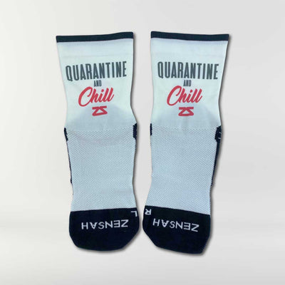 Quarantine and Chill Socks (Mini-Crew)Socks - Zensah