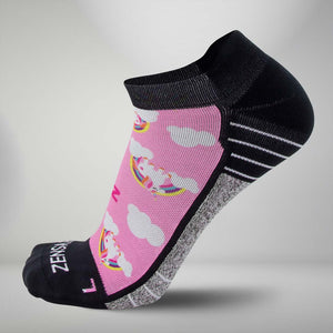 Rainbow Unicorns Socks (No Show)