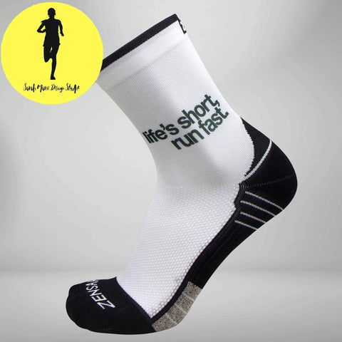 SMDS Life's Short Run Fast Socks (Mini Crew)