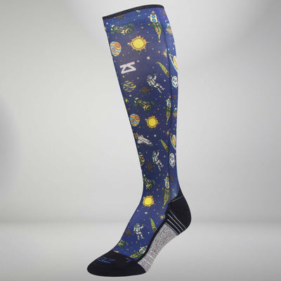 Solar System Compression Socks (Knee-High)Socks - Zensah