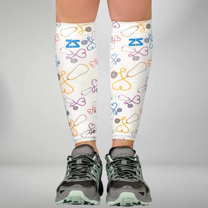 Stethoscopes Compression Leg Sleeves