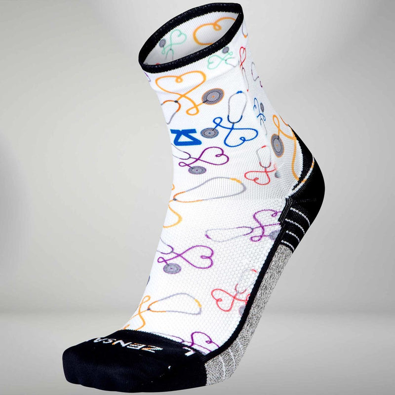 Stethoscopes Running Socks (Mini Crew)