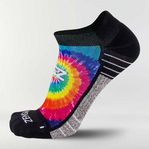 Tie Dye Running Socks (No Show)