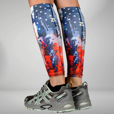 USA Liberty Compression Leg SleevesLeg Sleeves - Zensah