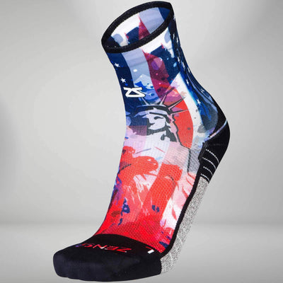 USA Liberty Socks (Mini Crew)Leg Sleeves - Zensah