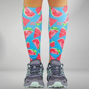 Watermelon Compression Leg SleevesLeg Sleeves - Zensah