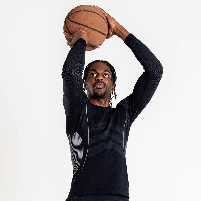 Justin Holiday Collection: Bold Compression Long Sleeve ShirtShirts - Zensah
