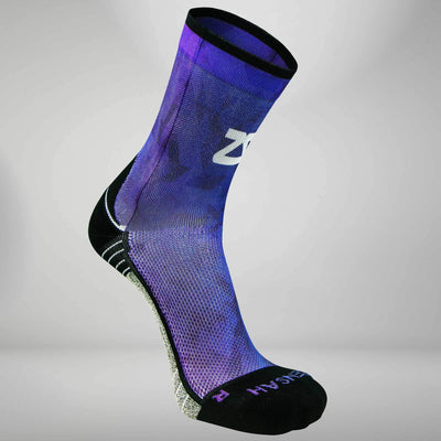 Abstract Fade Socks (Mini Crew)