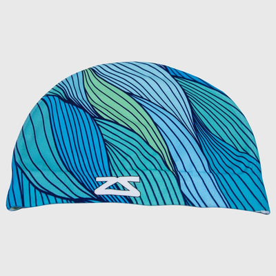 Abstract Waves Skull Cap BeanieHat - Zensah