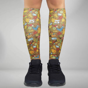 Autumn Compression Leg Sleeves
