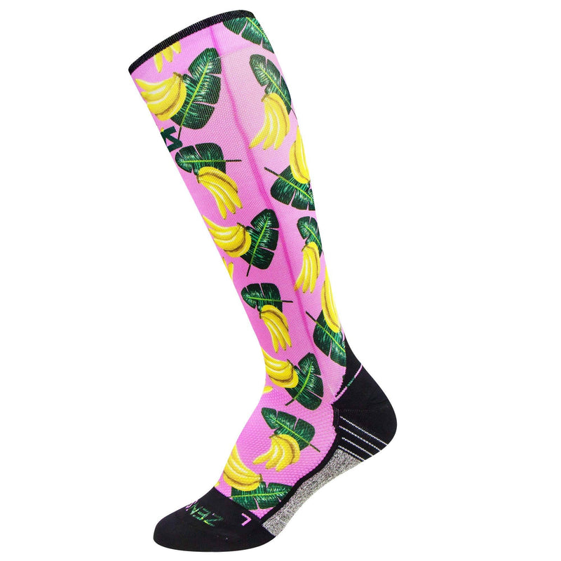 Bananas Compression Socks (Knee-High)