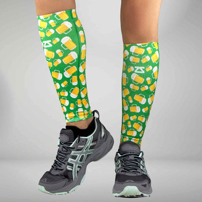 Beer Compression Leg Sleeves