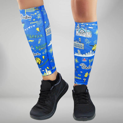 Boston Doodle 2.0 Compression Leg Sleeves
