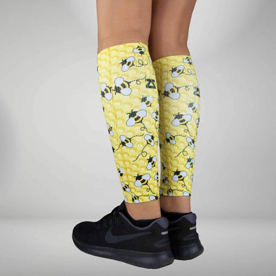 Bumblebees Compression Leg Sleeves
