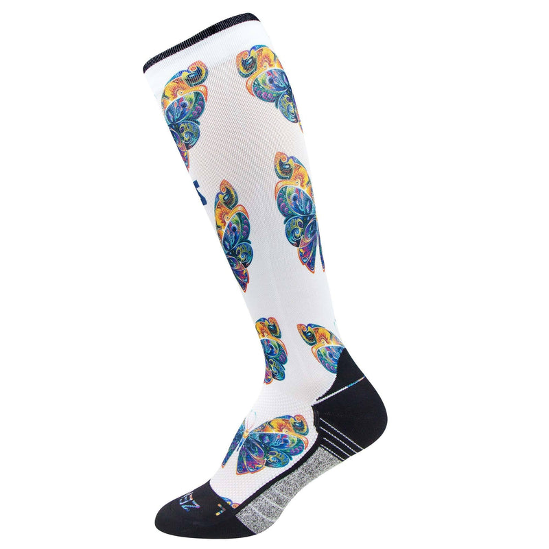 Butterflies Compression Socks (Knee-High)
