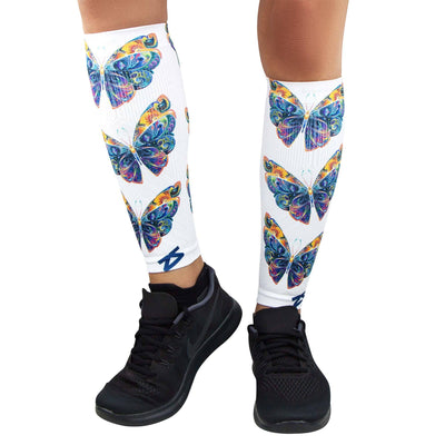 Butterflies Compression Leg SleevesLeg Sleeves - Zensah