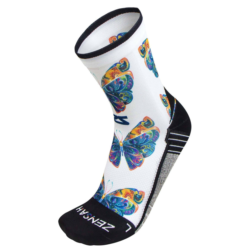 Butterflies Socks (Mini-Crew)Socks - Zensah
