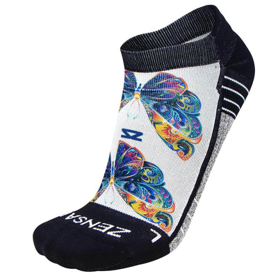 Butterflies Socks (No Show) - Zensah