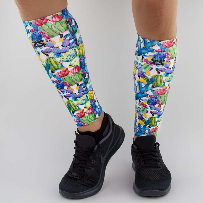 Cactus Flowers Compression Leg Sleeves