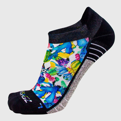 Cactus Flowers Running Socks (No Show) - Zensah