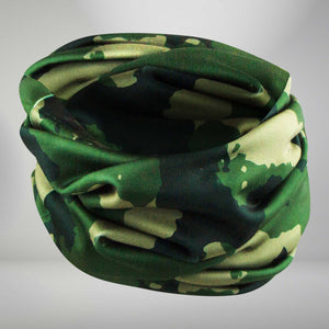 Camo Multi-Use Neck Gaiter & Headwear - Zensah