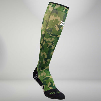 Camo Compression Socks (Knee-High)Socks - Zensah