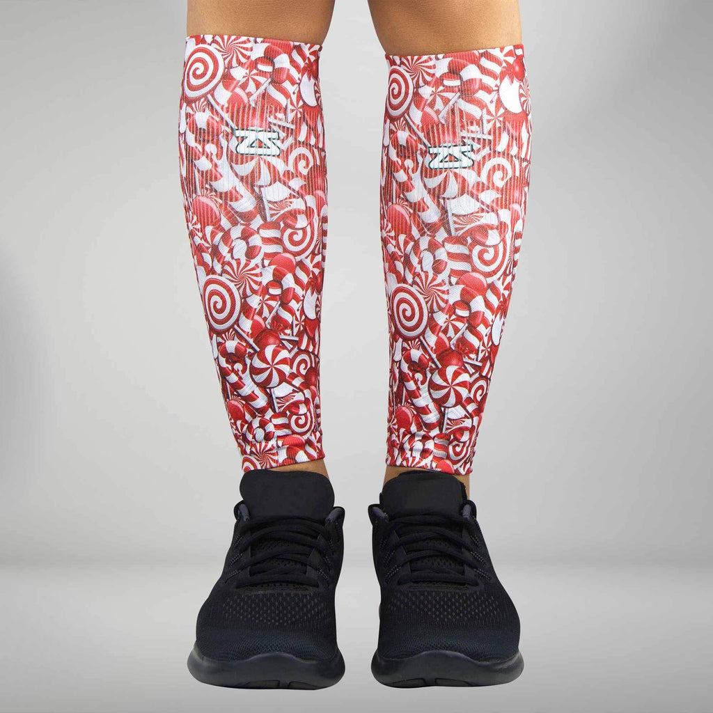 Candy Canes Compression Leg Sleeves