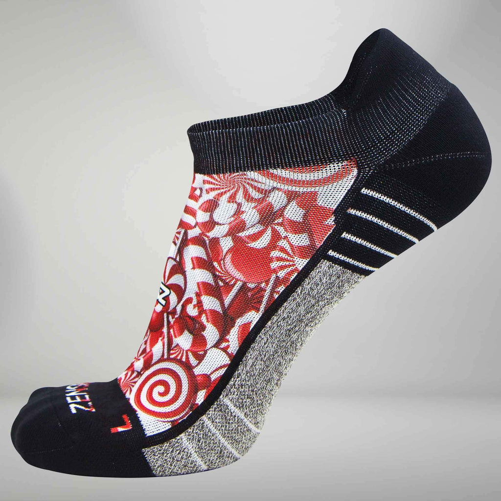 Candy Canes Socks (No Show)