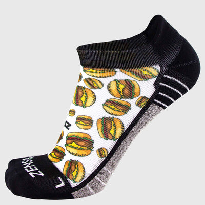 Cheeseburger Socks (No Show)
