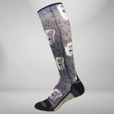 Hot Chocolate Compression Socks (Knee-High)
