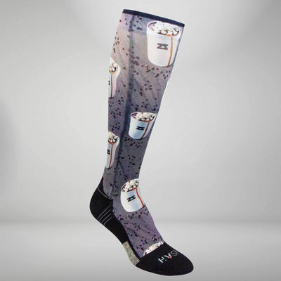 Hot Chocolate Compression Socks (Knee-High)Socks - Zensah