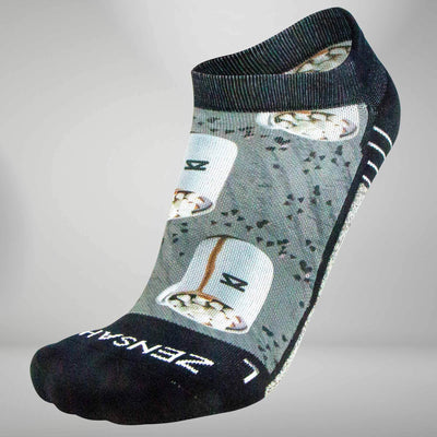 Hot Chocolate Socks (No Show)Socks - Zensah
