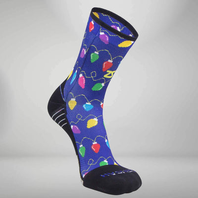 Christmas Lights Socks (Mini Crew)Socks - Zensah