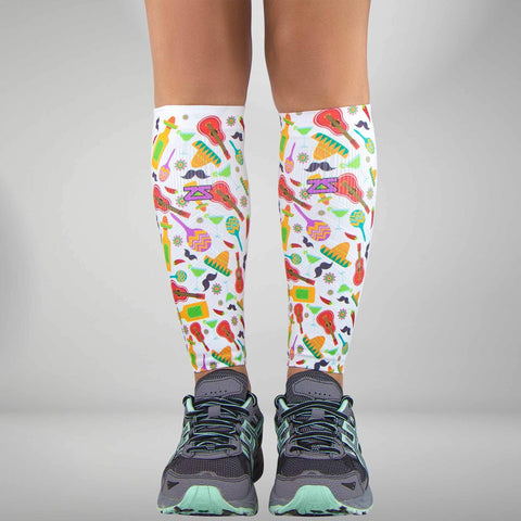 Cinco de Mayo Compression Leg Sleeves