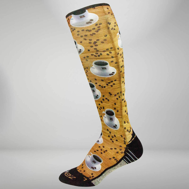 Coffee Compression Socks (Knee-High)